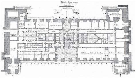 hton court palace floor plan the devoted classicist palacio de liria the madrid