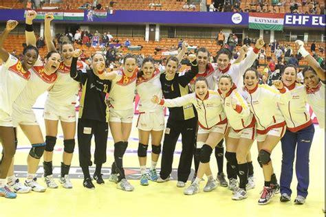 Calendario Futbol España Europeo De Balonmano Femenino 2012 Calendario De Espa 241 A