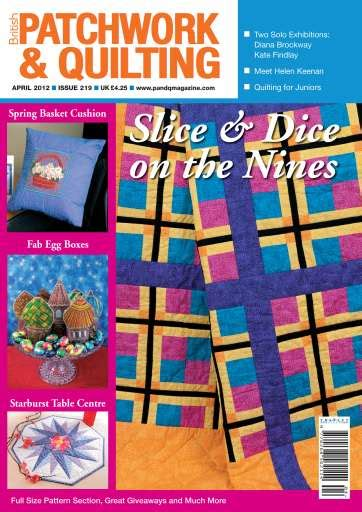 Patchwork Magazine - patchwork and quilting magazine april 2012 subscriptions