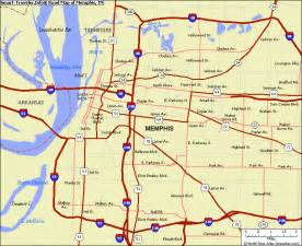 Memphis Map Usa by Memphis Map Free Printable Maps
