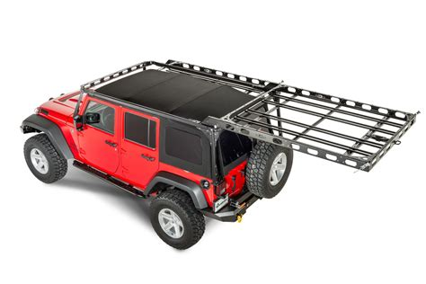 Wrangler Unlimited Roof Rack by Lod Easy Access Roof Rack System For 07 17 Jeep 174 Wrangler