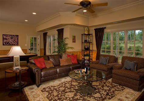 traditional family room decorating ideas basement retreat traditional family room