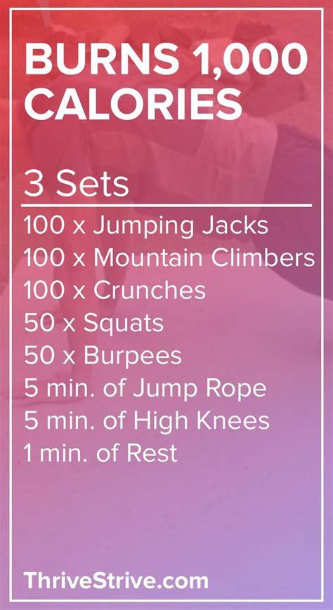 top 25 best 1000 calorie workout ideas on