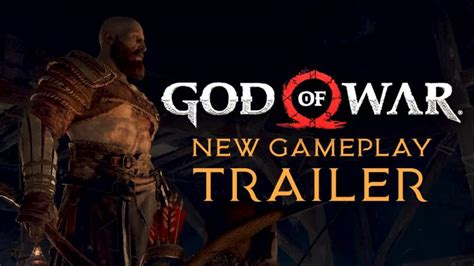 film god of war movie trailer god of war new gameplay trailer pgw 2017 fextralife
