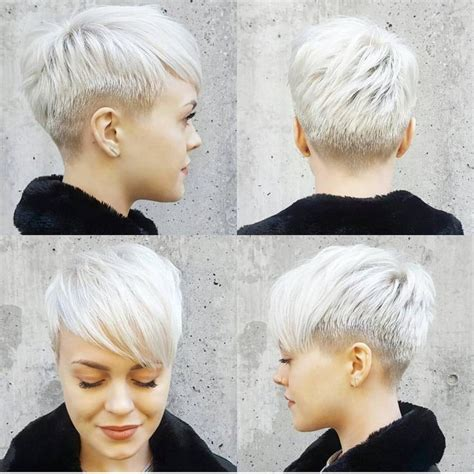 super short in back long in front hairstyles 25 best ideas about super short pixie on pinterest