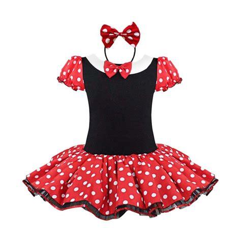 Dress Anak Disney jual disney kostum minnie mouse disneyland princess dress
