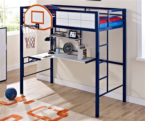 powell bunk beds with desk powell loft bed with desk ballin bed