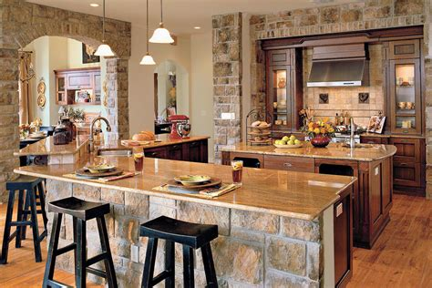 stonework kitchen idea house kitchen design ideas