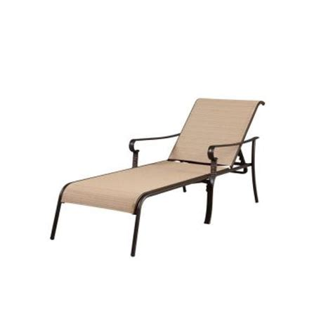 home depot chaise lounge hton bay belleville patio chaise lounge fls80132 the