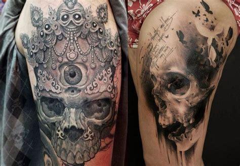 imagenes calaveras aztecas tatuajes de calaveras y craneos dise 241 os y significados