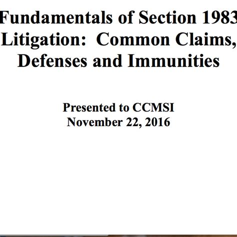 section 1983 cases section 1983 qualified immunity download pdf