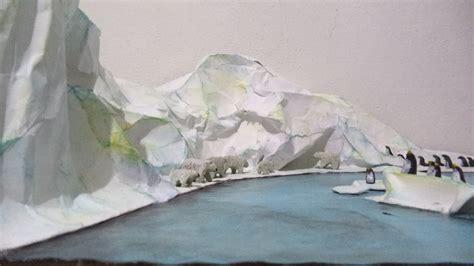maquetas de la tundra ecosistema polar maqueta youtube
