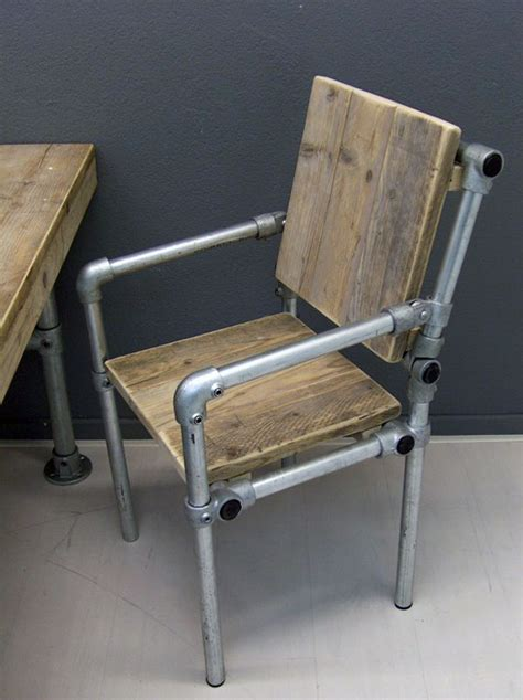 Industrial Arm Chair Design Ideas 5 Industrial Style Pipe Chairs How To Build Them