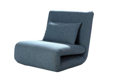 Fauteuil Lit Design by Fauteuil Design Convertible En Tissu Bleu Norton