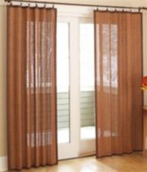 sliding panel window treatment interior design