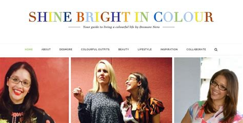 Shiny Hair Brightens A Lifestyle Magazine by Lifestyle Magazine Shine Bright In Colour Launches