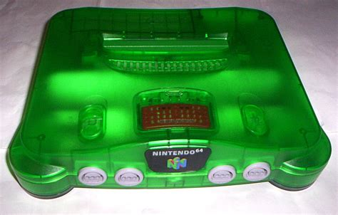 n64 console colors enlarge
