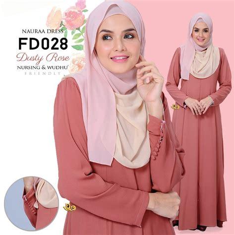 Medina Blouse 2 muslimah world apparel baju kurung moden dress muslimah