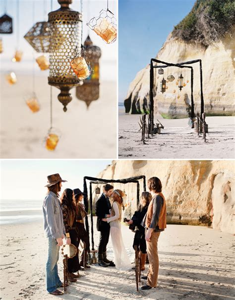 Gypsy Wedding Ideas | bohemian beach wedding ideas green wedding shoes wedding