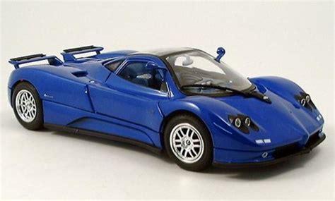 blue pagani zonda pagani zonda c12 blue 2004 motormax diecast model car 1 18