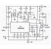 3 Band Audio Equalizer Circuit