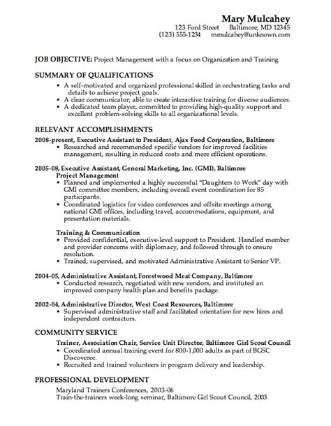 Resume Order by Resume Category Order