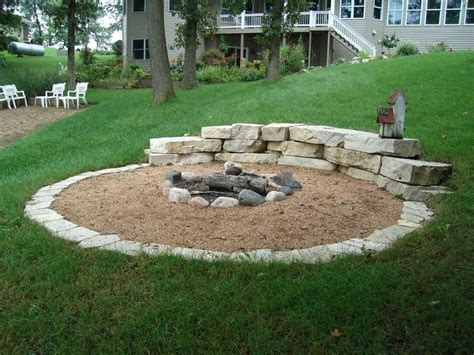 landscaping pit 1000 ideas about sloped backyard on sloping