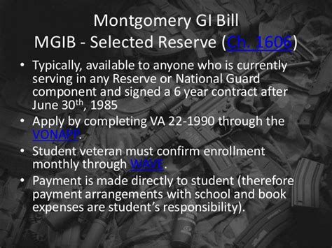 Using A Montgomery Gi Bill For Mba by Wmvc Pres 5 13 2014