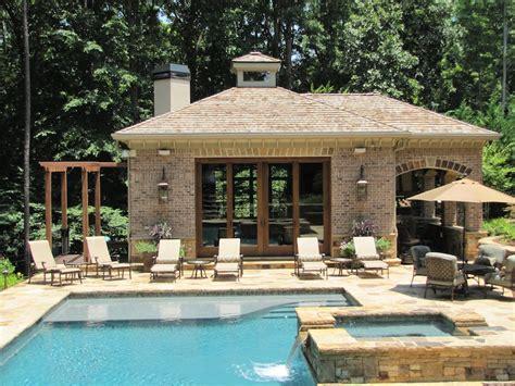 house of pool atlanta pool builder custom pool houses pavilions photos