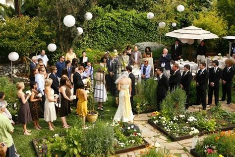Outdoor Backyard Wedding Ideas Unforgettable Garden Wedding Decor