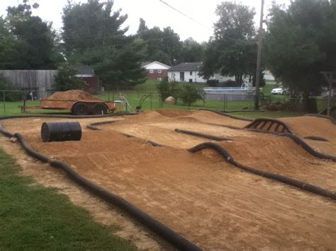 backyard cing my backyard traxxas rc track rc cars pinterest
