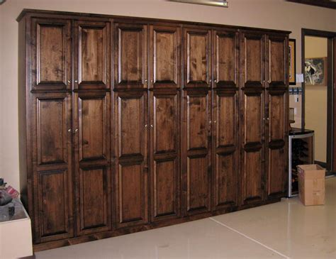 Garage Cabinets Unfinished Solid Wood Garage Storage Cabinets