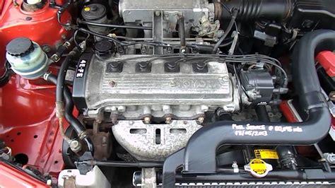 toyota starlet engine size toyota starlet 4e fe engine