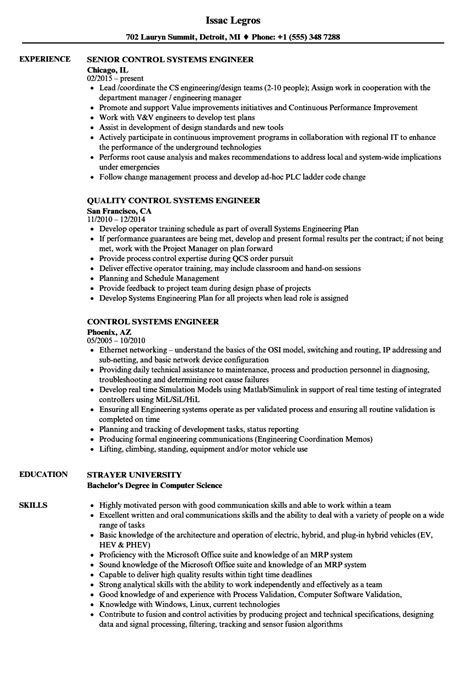 sample hardware engineer cover letter systems engineer resume