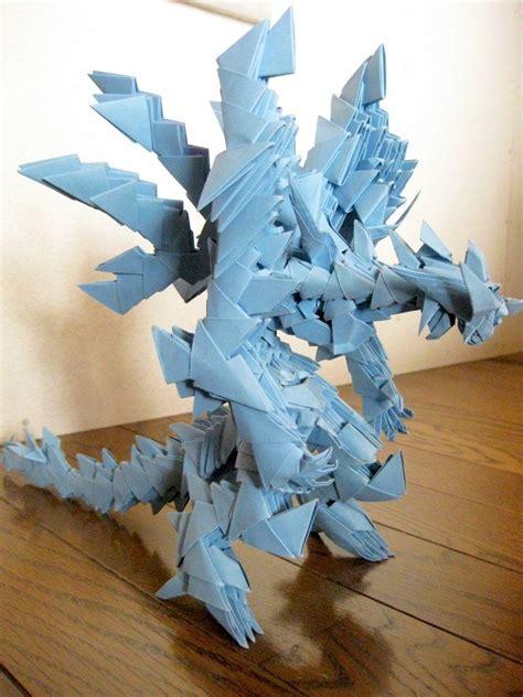 modular origami dragon boat 3d origami dragon 3d origami by kumazaza artisan crafts