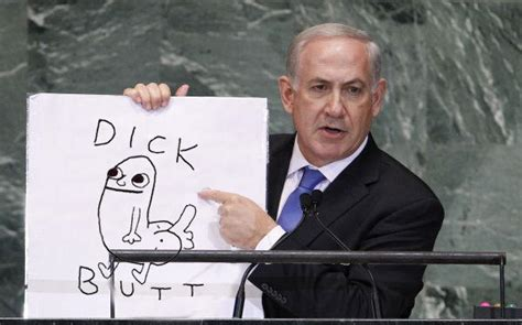 netanyahu dick butt know your meme