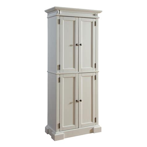 white kitchen pantry cabinet lowes shop home styles 30 in w x 72 in h x 16 in d white pantry