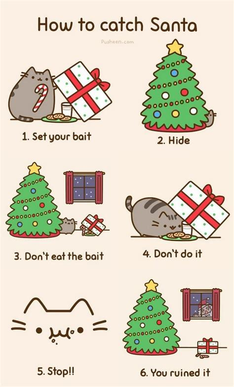 pusheen cat christmas to do list 9gag on twitter quot for the upcoming christmas eve how to