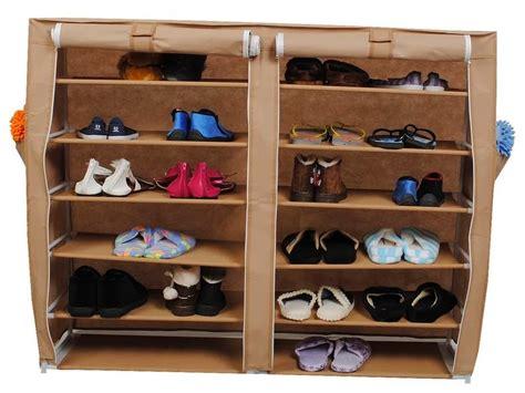 Rak Plastik 8 Kotak contoh model rak tempat sepatu dan sandal minimalis