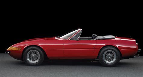 Ferrari Daytona Spider by Rare Factory Ferrari Daytona Spider To Be Auctioned Off
