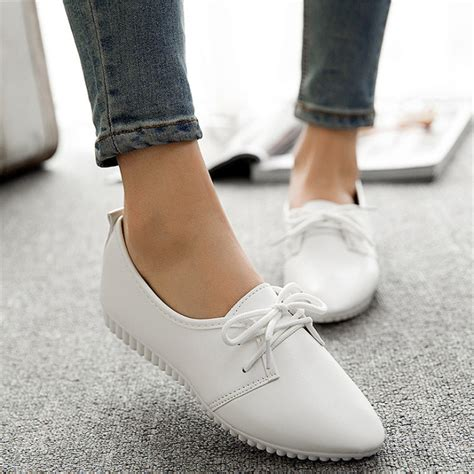 Flat Shoes 2018 Aamr casual shoes 2018 and summer shoes flat shoes light color