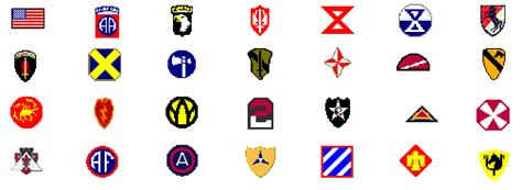 us army sections canadian division patches images
