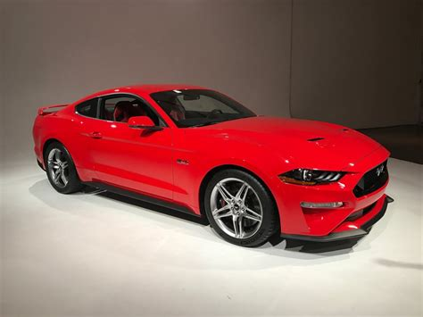new ford mustang 2018 ford unveils all new 2018 mustang fortune