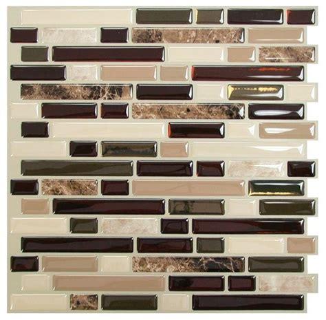 smart tiles backsplash smart tiles bellagio mosaik peel and stick wall tile