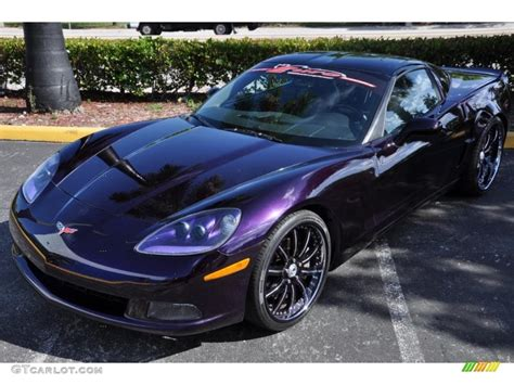corvette purple 2006 custom purple chevrolet corvette coupe 31900866
