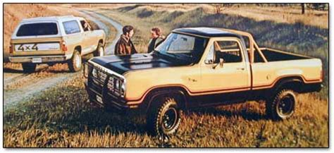 1977 plymouth and dodge trucks and vans (including