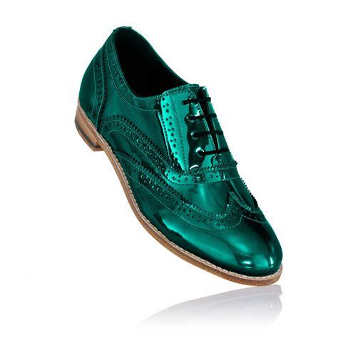 dress shoes gold baroque black blue brass brogue shoe brogues