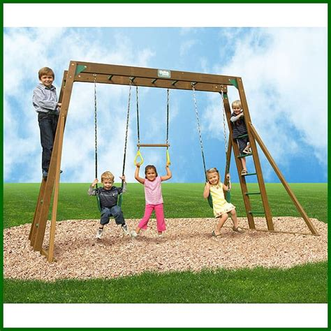 swing set with monkey bars sale classic monkey bar