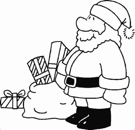 cute santa coloring pages so cute santa color page christmas pinterest