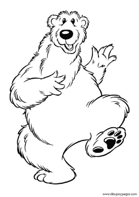 imagenes para pintar oso oso dibujos imagui